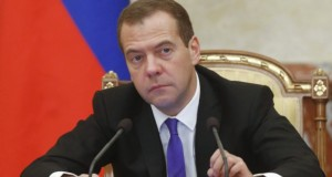 2719345 10/15/2015 October 15, 2015. Russian Prime Minister Dmitry Medvedev chairs a meeting of the Russian Government at the Government House. Dmitry Astakhov/RIA Novosti