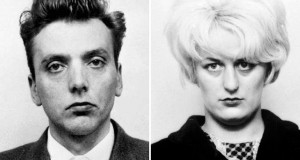 """(FILES) A combination of handout pictures created in London on May 15, 2017 shows undated police handout photographs released by Greater Manchester Police of 'Moors murderers' Ian Brady (L) and Myra Hindley (R).  Brady has died in high-security hospital at the age of 79, a spokesperson for the NHS trust in Merseyside said on May 15, 2017. Brady along with his then-girlfriend Myra Hindley, who died in prison in 2002, dubbed the Moors murderers, kidnapped and murdered five children in the 1960s and buried at least four of their bodies on Saddleworth Moor near Manchester in northwest England.  / AFP PHOTO / GREATER MANCHESTER POLICE / - / RESTRICTED TO EDITORIAL USE - MANDATORY CREDIT """"AFP PHOTO / GREATER MANCHESTER POLICE """" - NO MARKETING NO ADVERTISING CAMPAIGNS - DISTRIBUTED AS A SERVICE TO CLIENTS"""