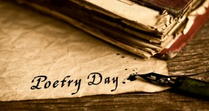 closeup of an old book, an old dip pen and a yellowish paper with the text poetry day written with black ink in it, on a rustic wooden table, Image: 278629779, License: Royalty-free, Restrictions: , Model Release: no, Credit line: Profimedia, Alamy